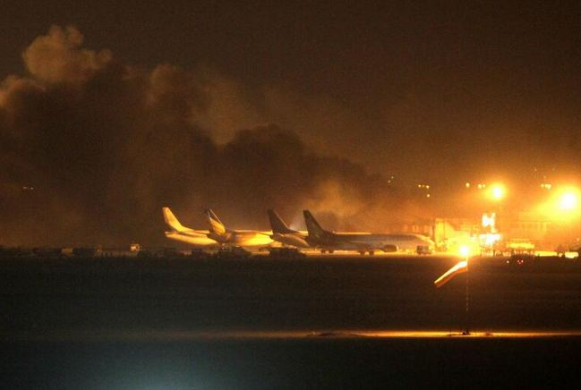 Taliban attacks Pakistan airport, killing at least 23 people. Photo courtesy of Shep News Team / Twitter