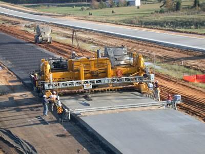 Concrete pavement. Photo from PavementSE