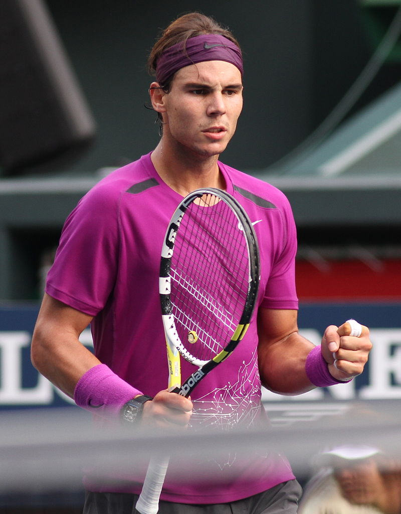 Nadal at Japan Open 2011. Wikipedia photo