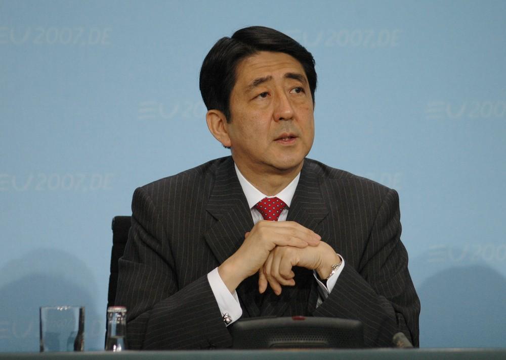 Japanese Prime Minister Shinzo Abe. 360b / ShutterStock