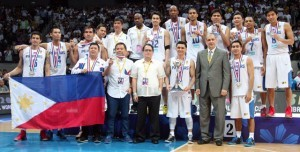 Smart Gilas Pilipinas. Photo courtesy of Nuki Sabio / FIBA Asia via Gilas Pilipinas Facebook page.