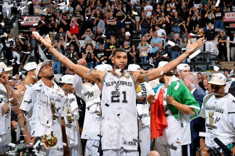 San Antonio Spurs: NBA Champions (NBAE / Getty Images via SA Spurs Facebook page)
