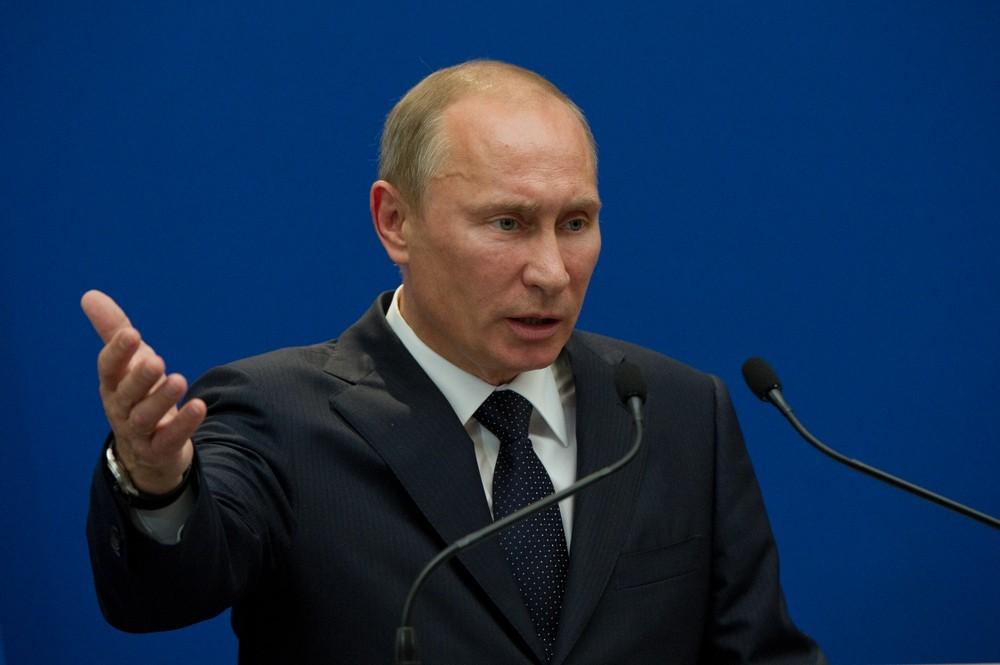 Russian President Vladimir Putin. Frederic Legrand / Shutterstock