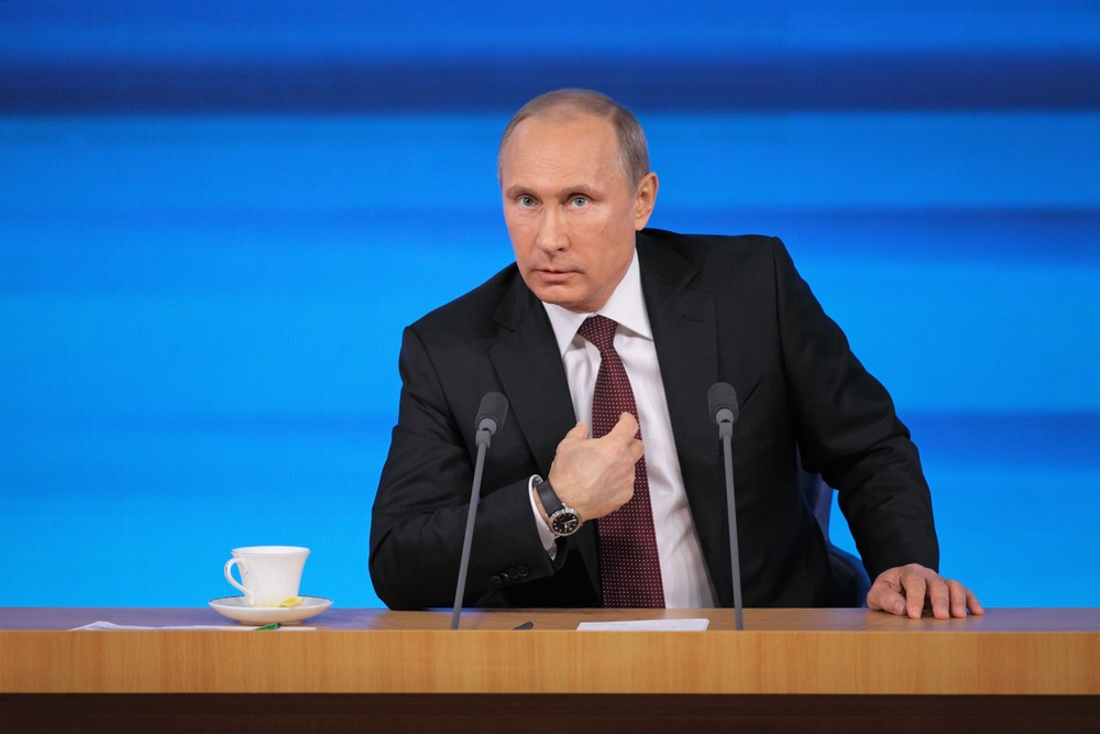 Russian President Vladimir Putin. ID1974 / Shutterstock