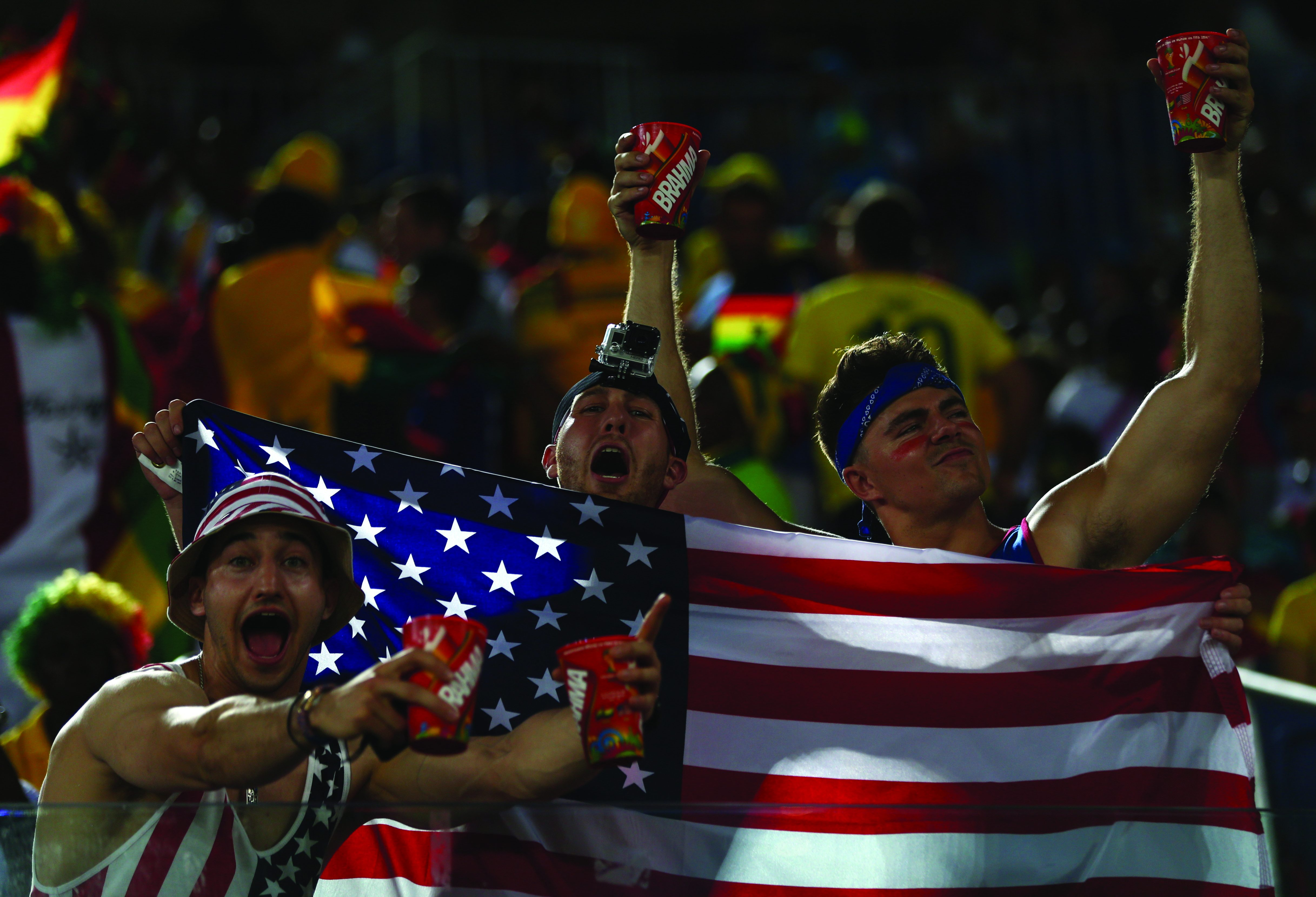During the 2014 FIFA World Cup Brazil Group G match between Ghana and the United States at Estadio das Dunas on June 16, 2014 in Natal, Brazil. Photo courtesy of Continental AG / image.net