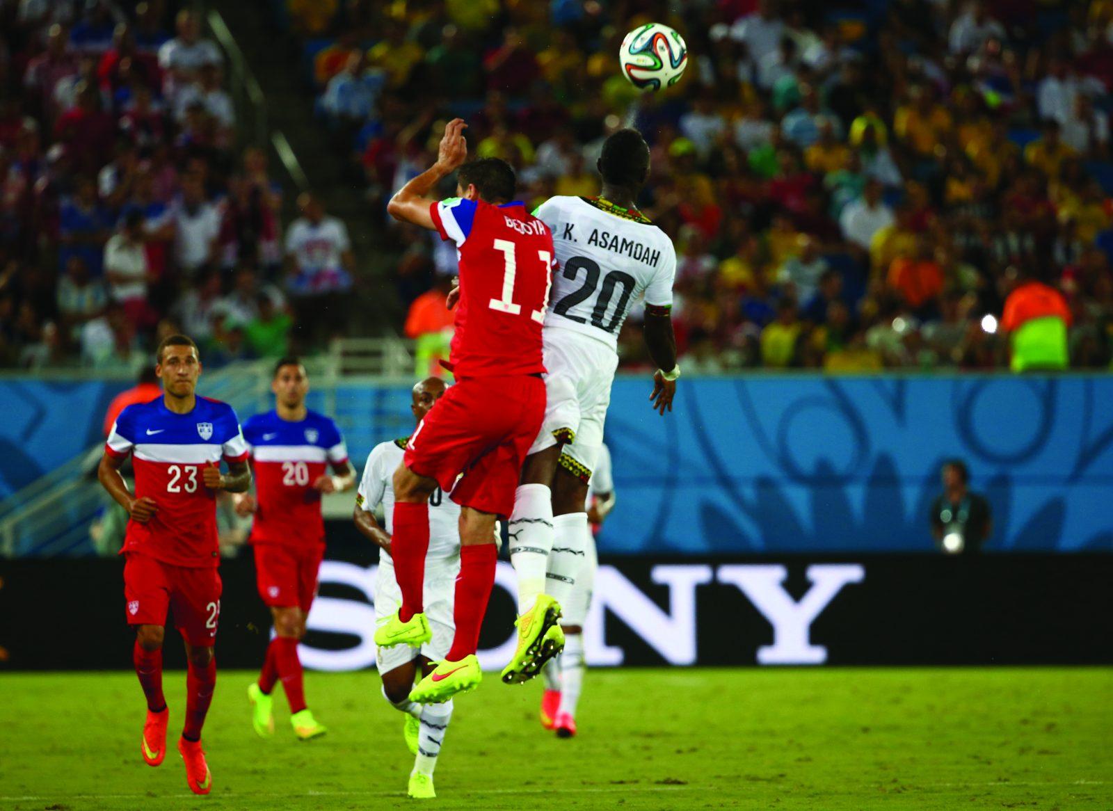 USA wins over Ghana, 2-1. Photo courtesy of Sony via Image.net.