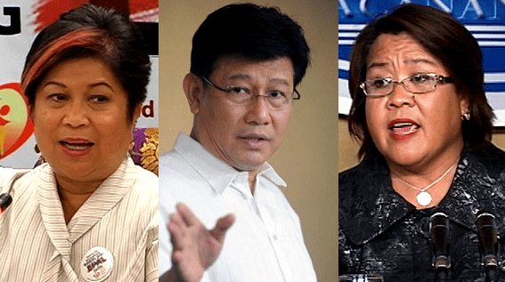 It's Official: Soliman, Paje, De Lima confirmed by the Commission on Appointments.