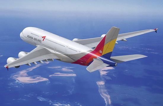 Asiana Airlines. Photo courtesy of www.eusa.eu.