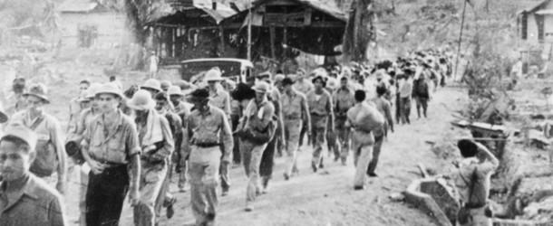 Bataan Death March. Photo from laketravisview.com.