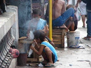 Street children in Cebu. / Wikipedia Photo