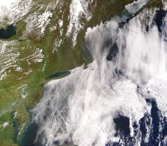 Climate change satellite image. / Wikipedia Photo