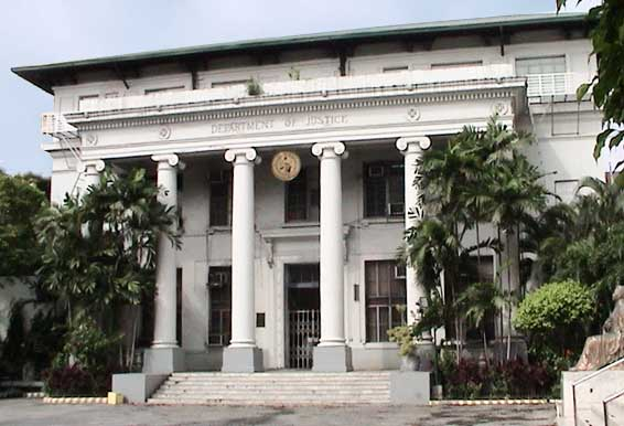Department of Justice. (Photo courtesy of doj.gov.ph)