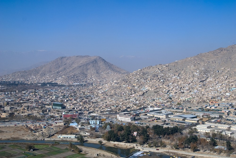 Kabul, Afghanistan. ShutterStock image