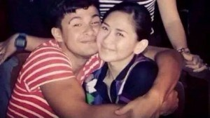 Matteo Guidicelli and Sarah Geronimo. Photo from Matteo Guidicelli's official Facebook page.