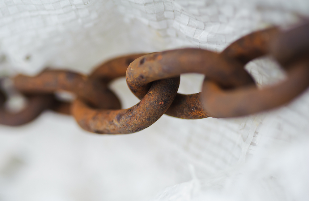 slavery chained chains