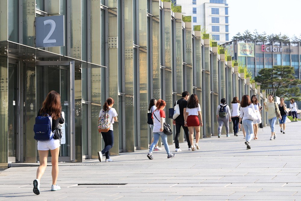 Ewha Womans University, MAY 22, 2014 in Seoul, South Korea. Artzenter / Shutterstock