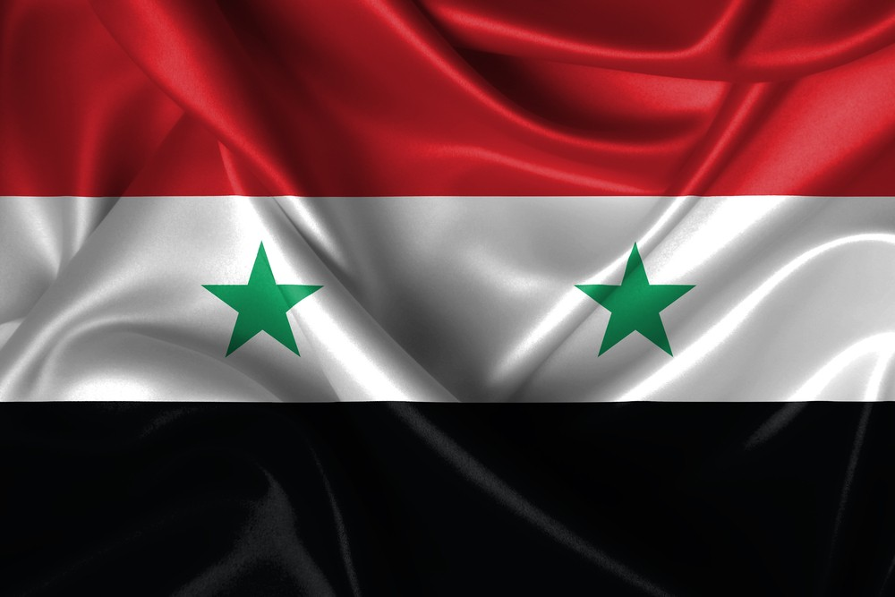 Flag of Syria (ShutterStock image)