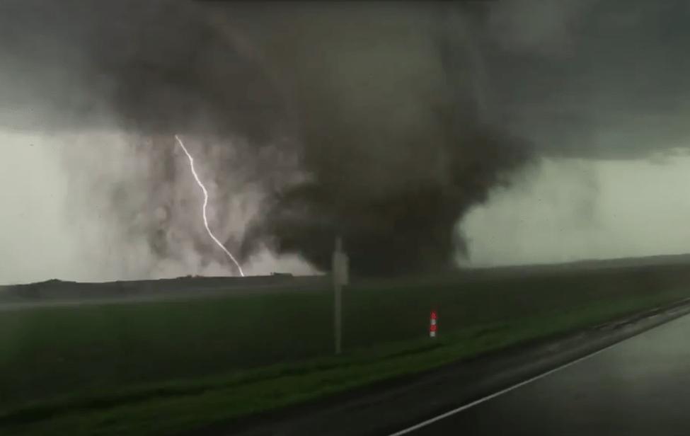 Screenshot of CNN footage