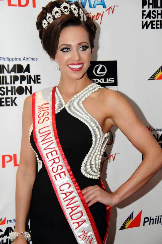 Ms. Universe Canada Chanel Beckenlehner