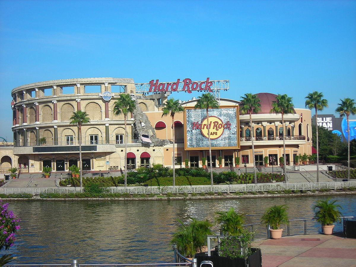 Hard Rock Cafe, Orlando. Photo from Wikimedia Commons.