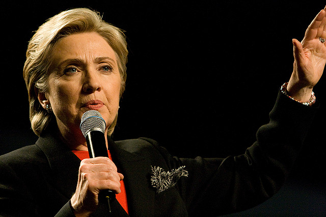 Hillary Clinton. Photo from Flickr.