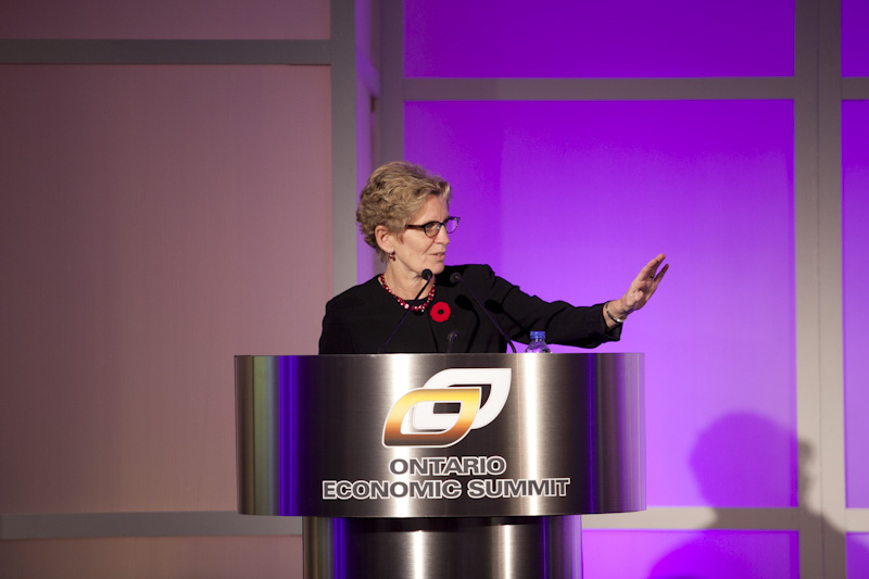 Hon. Kathleen Wynne. Photo from Ontario Chamber of Commerce / Flickr.
