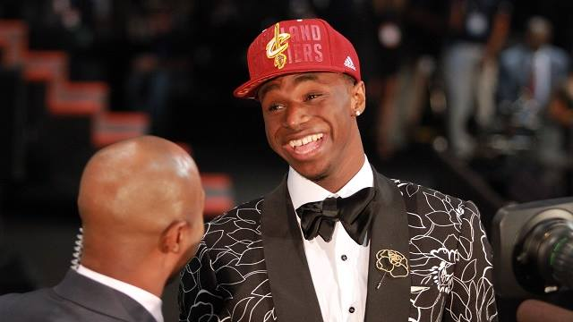 Cavs get Andrew Wiggins (Photo courtesy of Wiggins' official Facebook page)