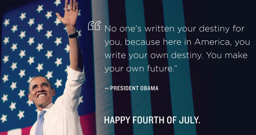 Photo courtesy of Pres. Barack Obama's official Twitter account.