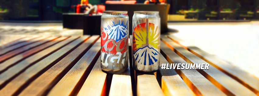 COORS LIGHT #LiveSummer (Photo courtesy of Coors Light official Facebook page)