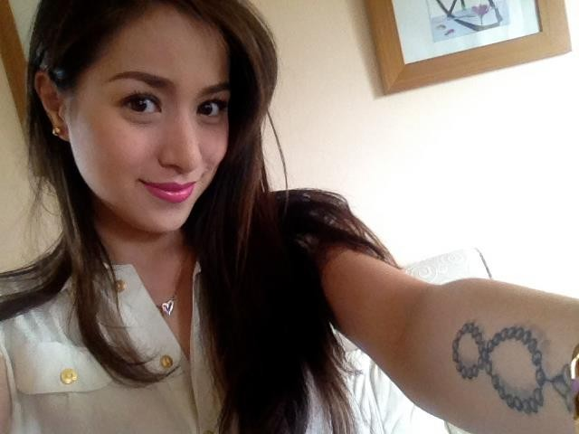 CRISTINE REYES Photo courtesy of Reyes' official Facebook page