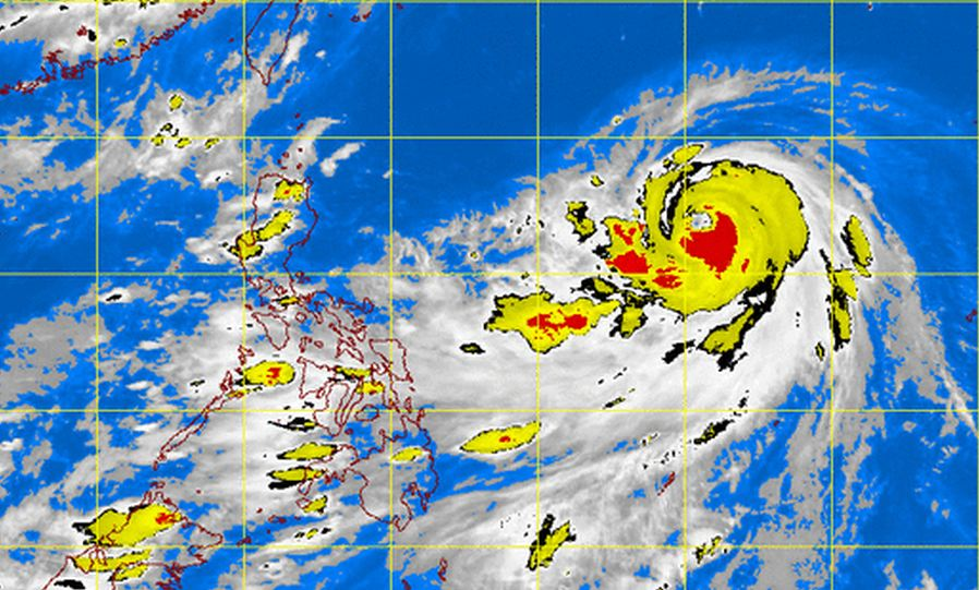 DOST-PAGASA satellite image