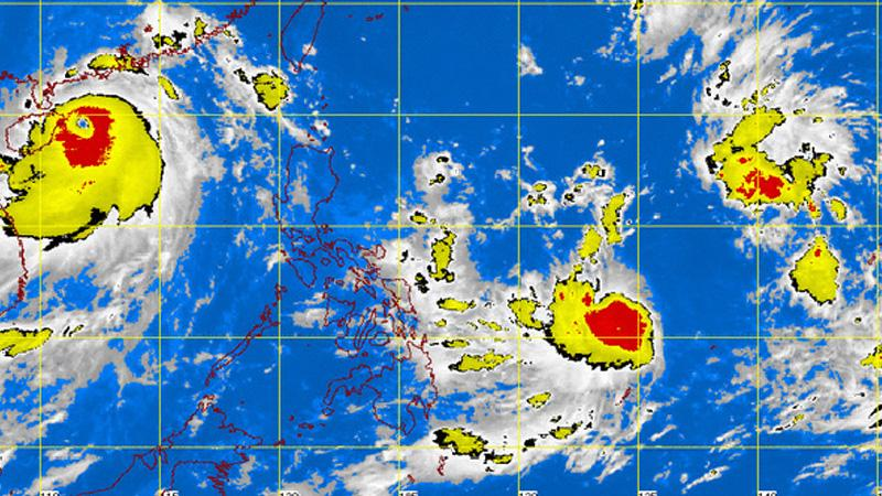 Typhoon 'Henry' satellite image courtesy of PAGASA