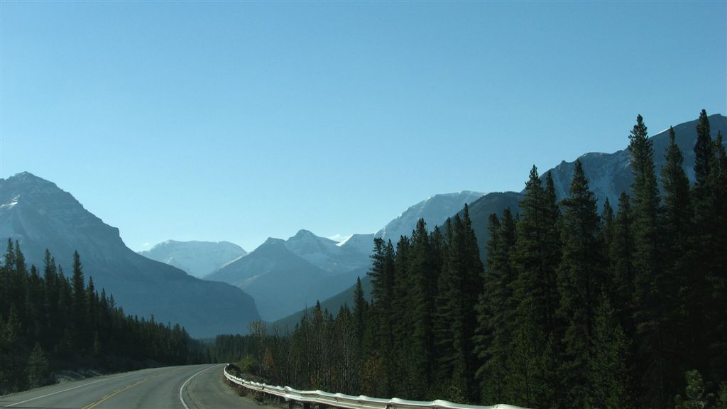 Highway 93, Alberta. Photo by ltdan / Flickr.
