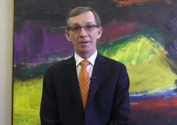 Alberta MLA Mike Allen (Screenshot of footage from MikeAllenMLA YouTube channel)