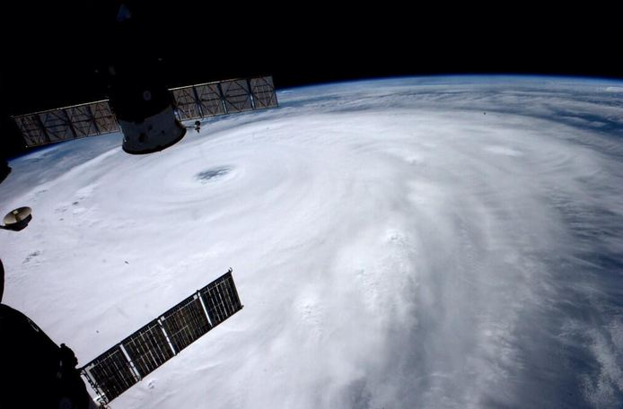 Super typhoon 'Neoguri' looms over Okinawa, Japan. Photo courtesy of astronaut Reid Wiseman via Twitter