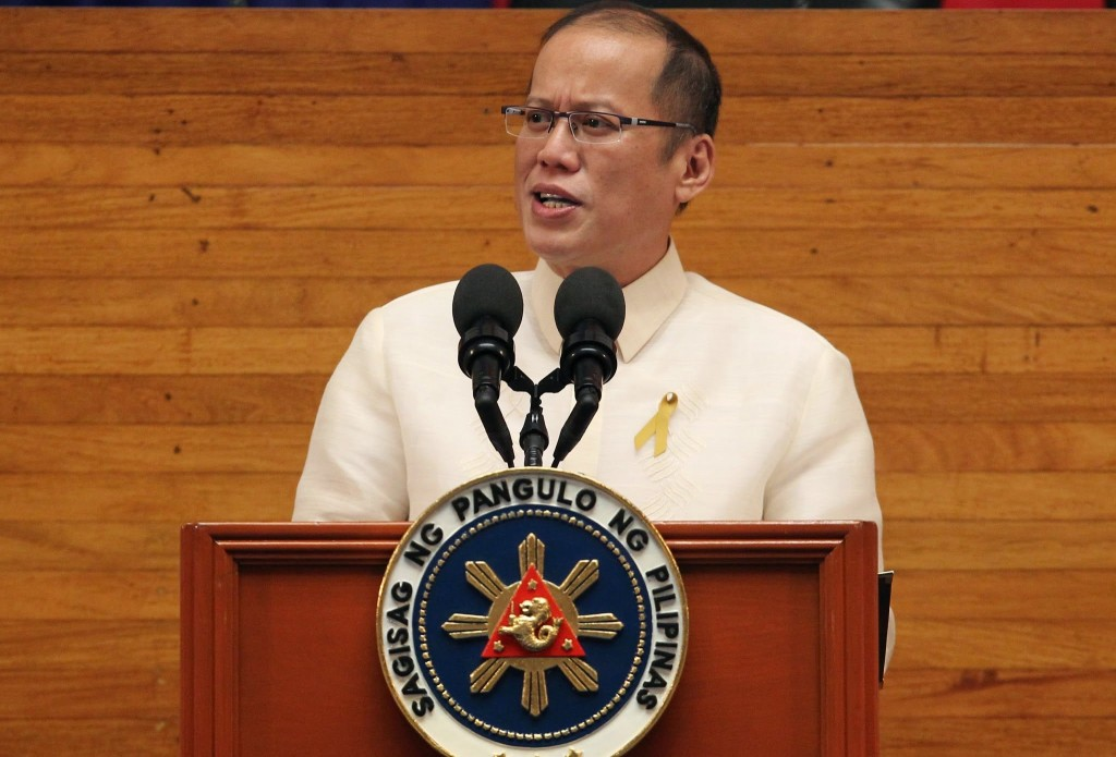 President Benigno S. Aquino III delivers his 5th State of the Nation Address (SONA) during the Joint Session of the 16th Congress at the Batasang Pambansa in Quezon City on Monday (July 28, 2014). The SONA delivered by the President is a yearly tradition wherein the Chief Executive reports on the status of the country, unveils the government's agenda for the coming year, and may also propose to Congress certain legislative measures. (Photo by Ryan Lim / Malacanang Photo Bureau)