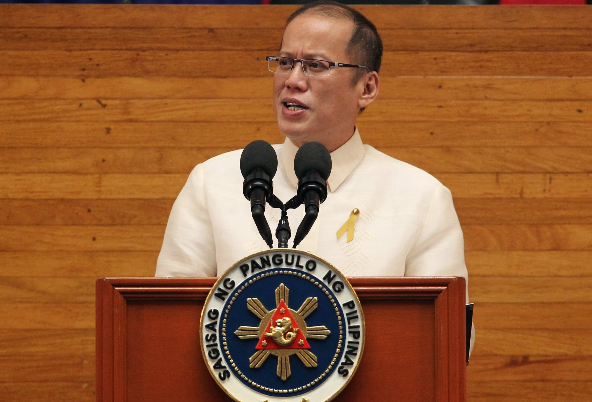 President Benigno Aquino III (Photo by Ryan Lim / Malacanang Photo Bureau)