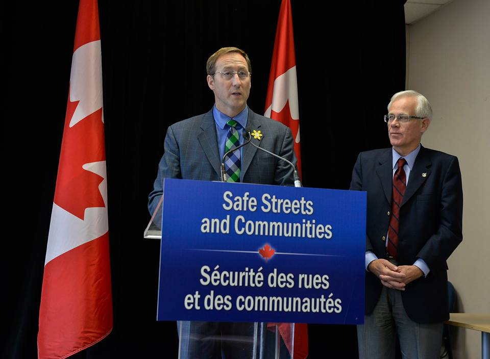 Minister of Justice and Attorney General of Canada Peter MacKay. Photo courtesy of MacKay's official Facebook page.