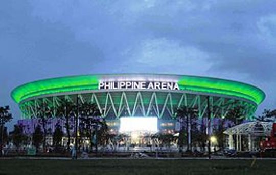 Philippine Arena (Wikipedia photo by ForwardGWR)