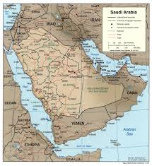 Saudi-map