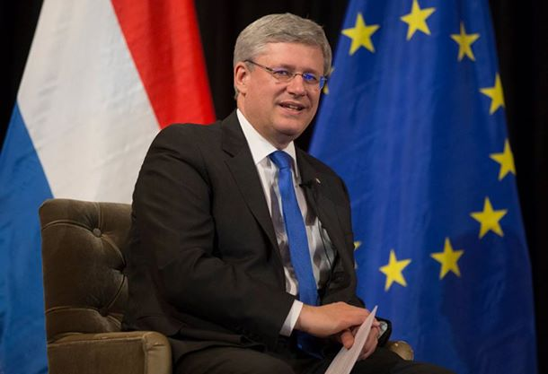 Canada PM Stephen Harper. Photo courtesy of Harper's official Facebook page.