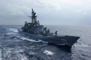 The Japan Maritime Self-Defense ship JS Hatakaze DDG 171 / Wikipedia Photo