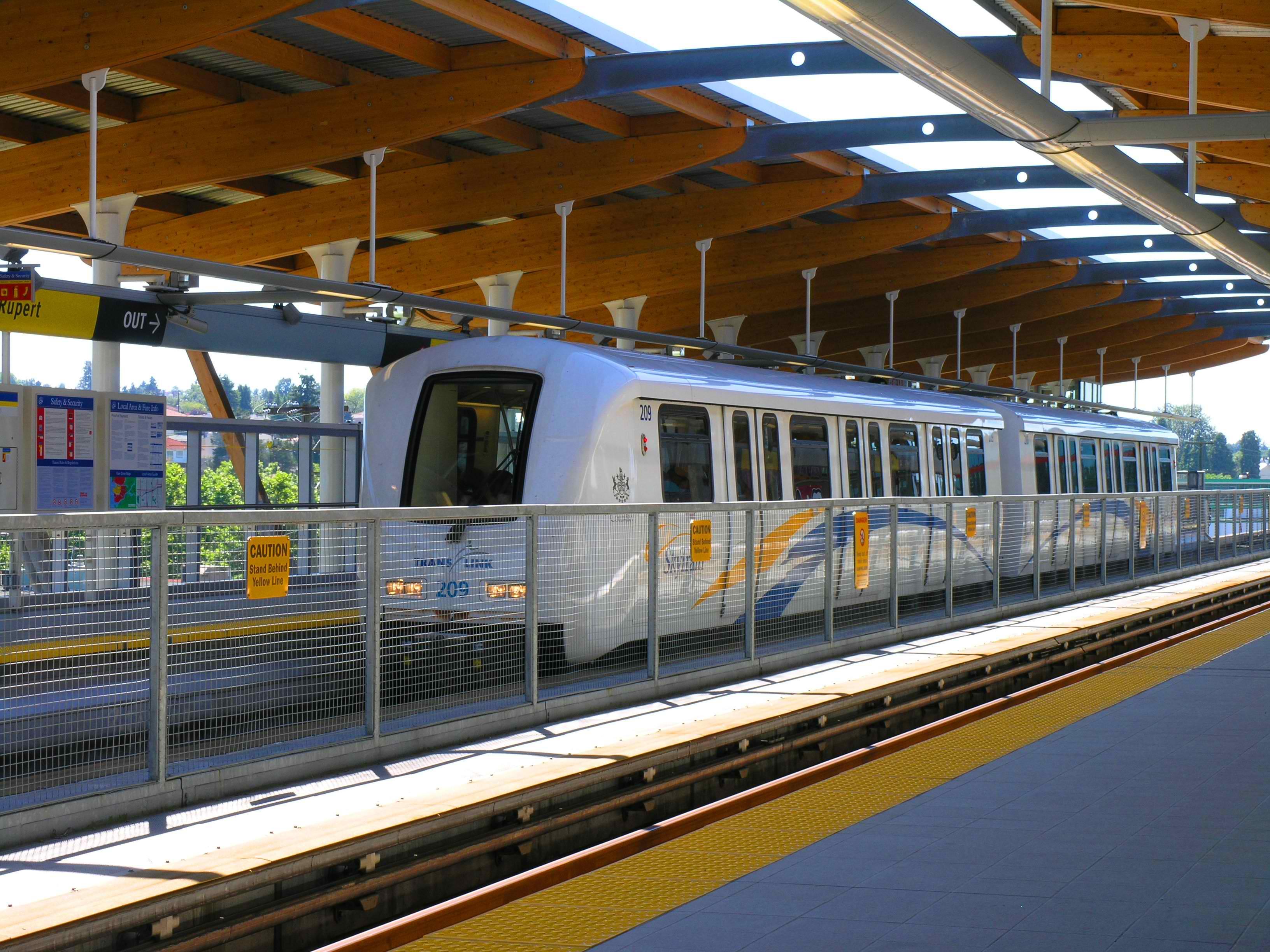 Rupert Station, Vancouver SkyTrain (Wikipedia photo)