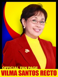 Vilma Santos-Recto / Photo from Vilma's official Facebook Page
