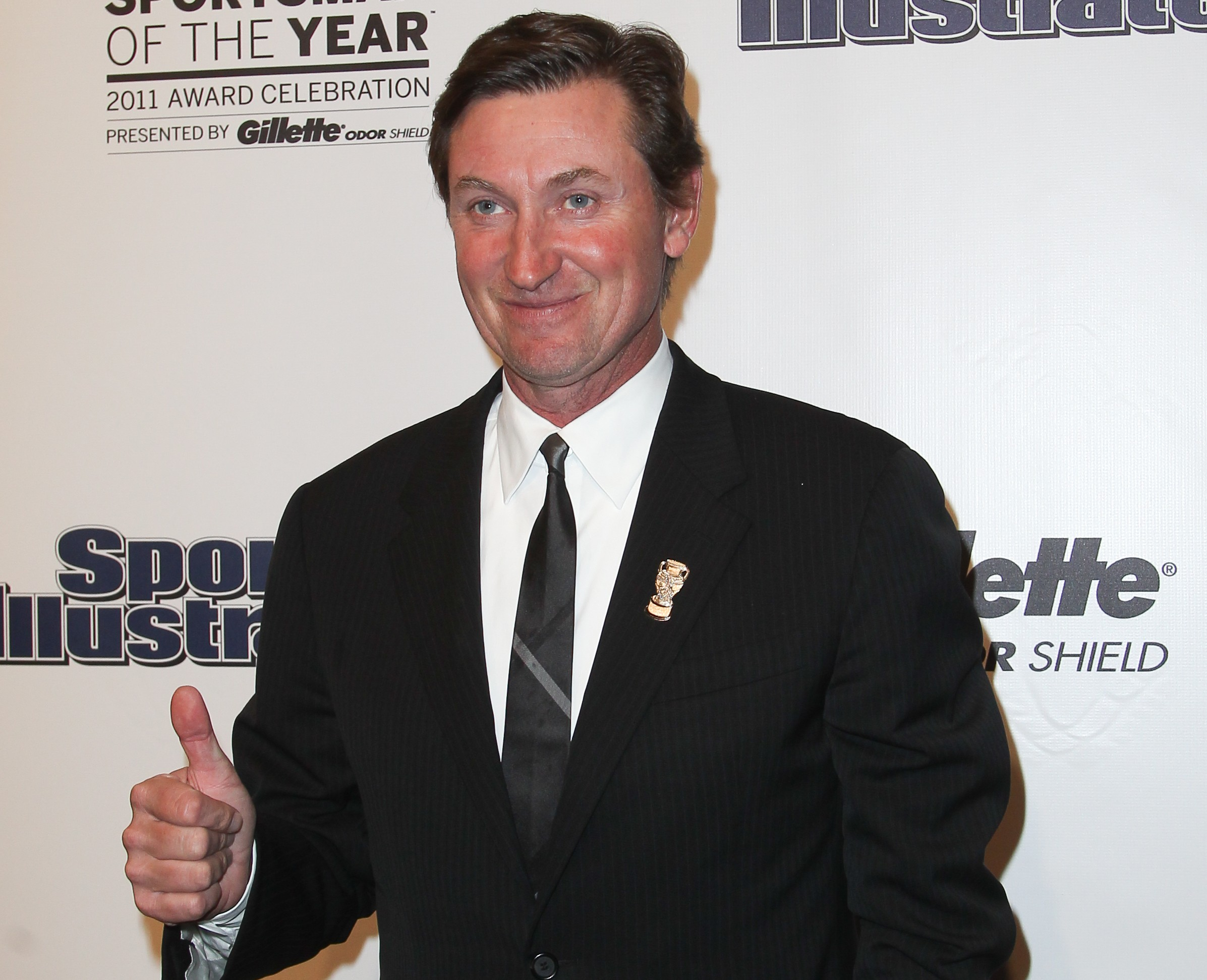 Wayne Gretzky attends the 2011 Sports Illustrated Sportsman of the Year award presentation at The IAC Building in New York City. Debby Wong / Shutterstock