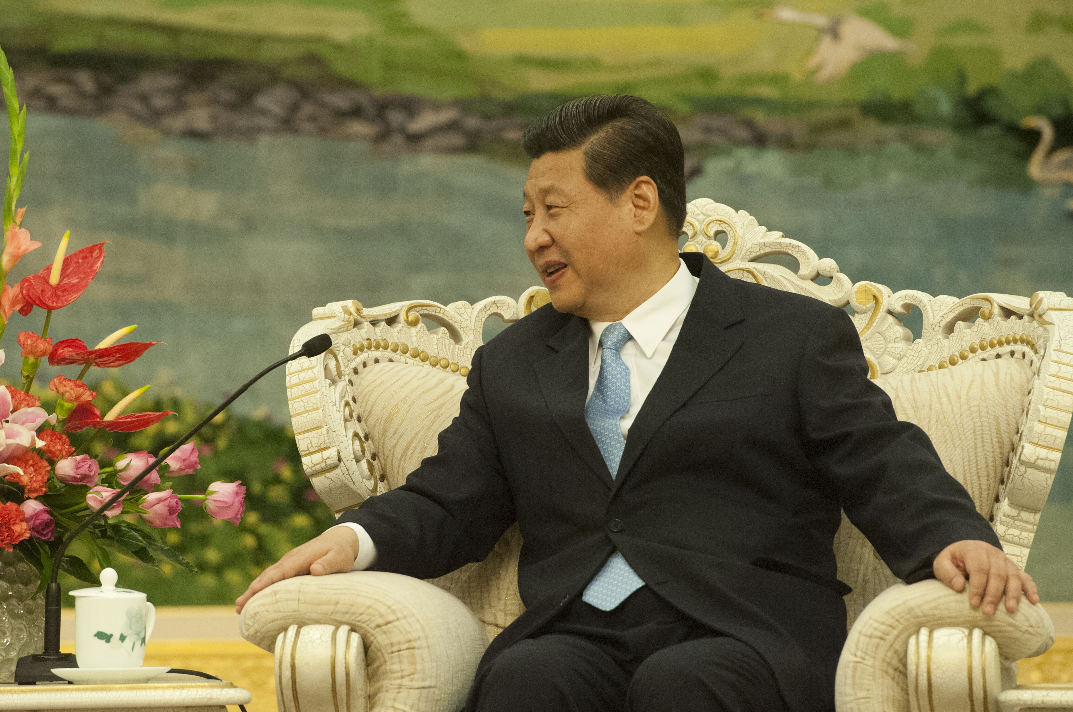 Communist Party leader Xi Jinping. Photo by Erin A. Kirk-Cuomo / Flickr.
