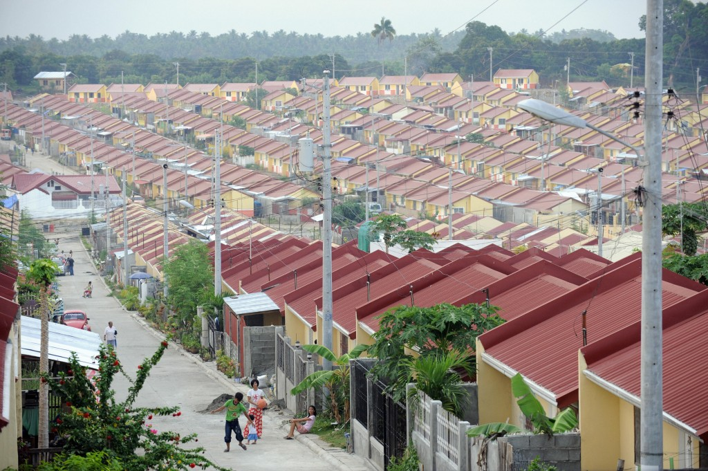 Housing projects in the Philippines. Photo courtesy of Asia Green Buildings.