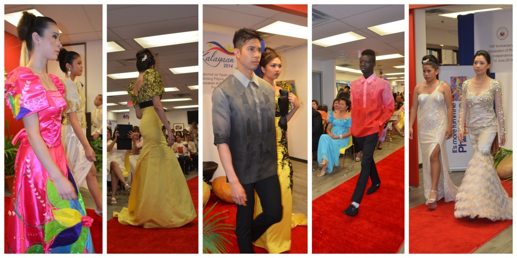 """Ngayon at Noon"" fashion show during the Philippine Independence Day celebration in Toronto"