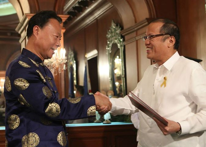 President Benigno S. Aquino III received the credentials of Zhao Jianhua, Ambassador of the People's Republic of China to the Philippines. (Photo: www.gov.ph)