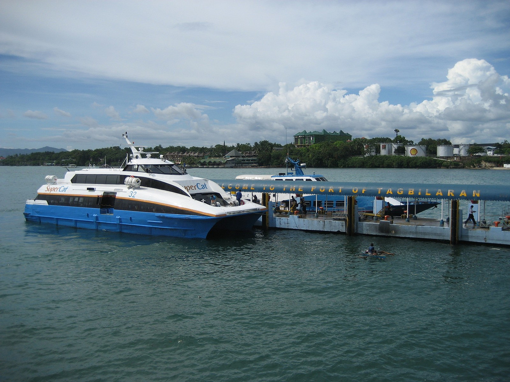 Port of Tagbilaran, Bohol. (Stock photo) 2GO / Wikipedia